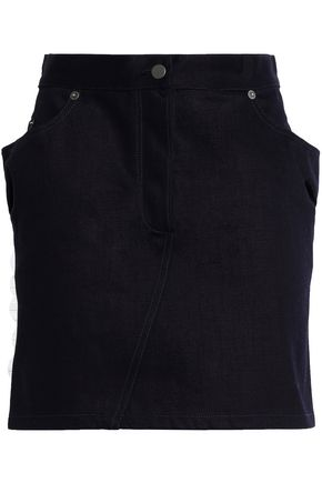 CHALAYAN Denim mini skirt