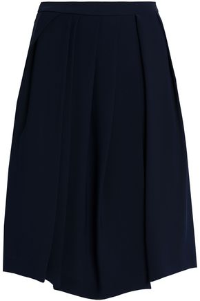 CHALAYAN Flared cady skirt