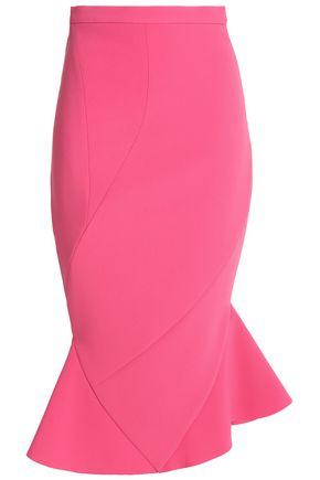 RACHEL GILBERT Fluted crepe skirt