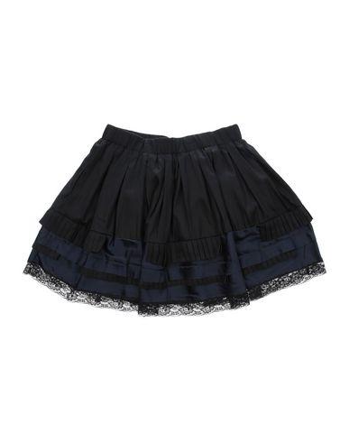 DIESEL Mädchen Rock Schwarz Größe 9 60% Lyocell 40% Baumwolle