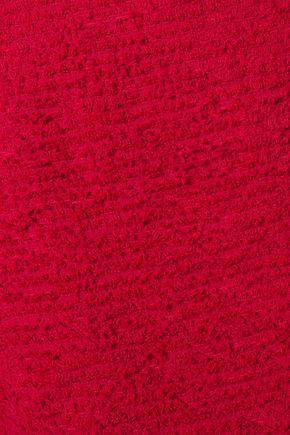 OSCAR DE LA RENTA Bouclé-knit pencil skirt