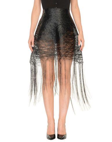 Фото - Мини-юбка от MATTEO THIELA черного цвета