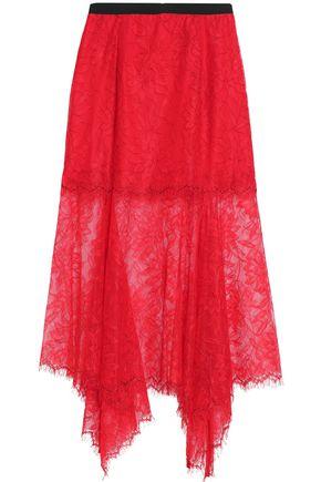 ALICE McCALL Confessions asymmetric lace midi skirt