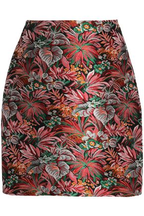 MSGM Brocade mini skirt