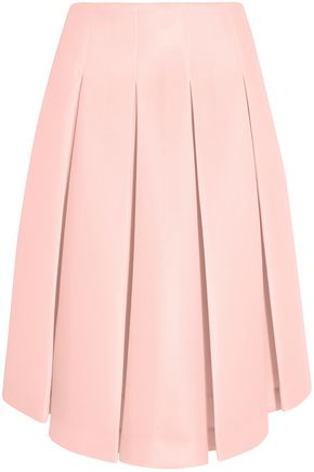 SIMONE ROCHA Pleated neoprene skirt