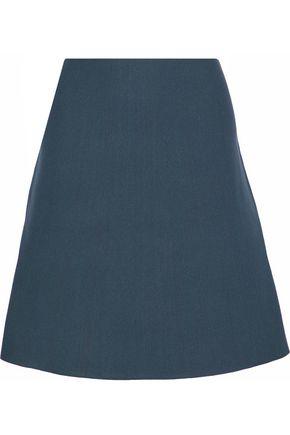 HOUSE OF DAGMAR Flared knitted skirt