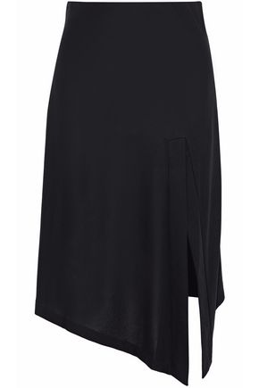 TOTÊME Asymmetric stretch-crepe skirt