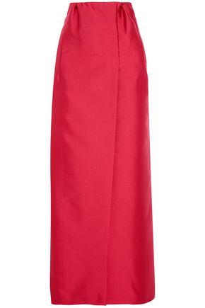 MERCHANT ARCHIVE Duchesse satin maxi skirt