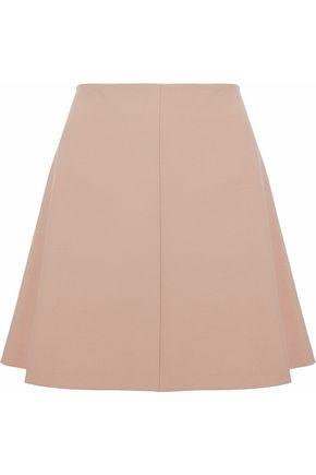 REDValentino Fluted stretch-knit mini skirt