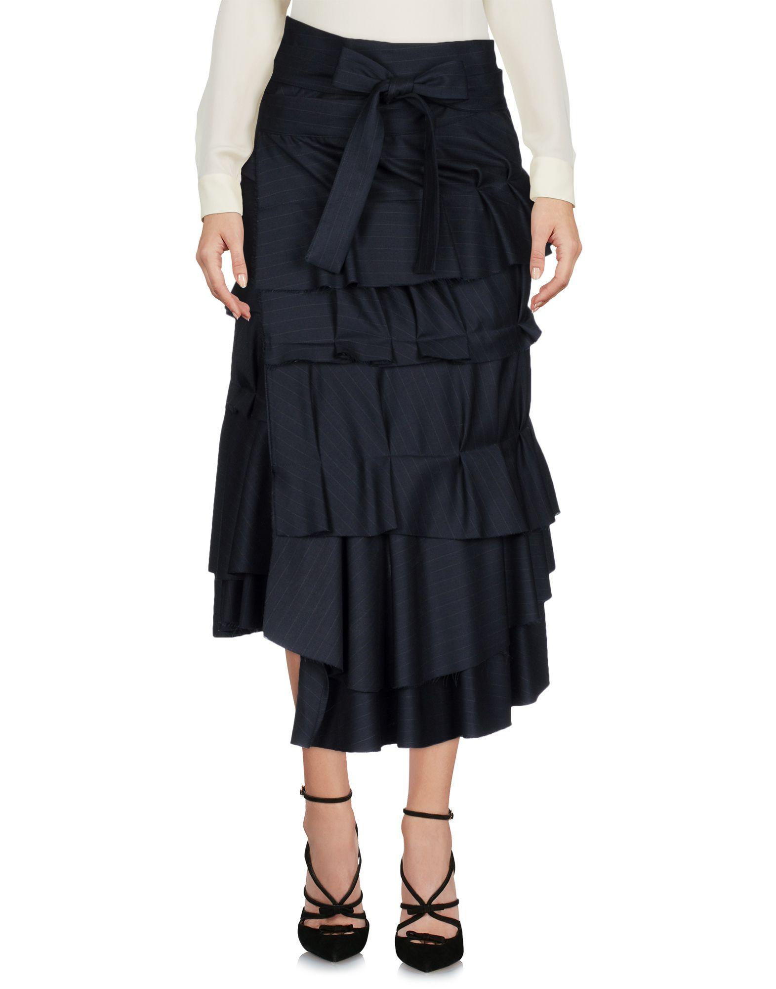 ERIKA CAVALLINI Юбка длиной 3/4 erika cavallini платье длиной 3 4