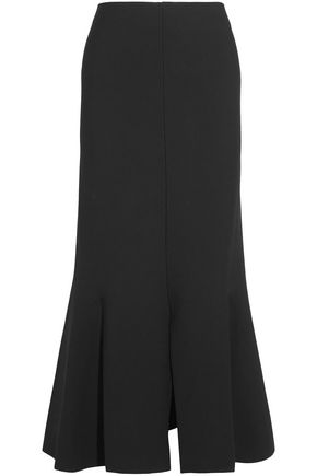 STELLA McCARTNEY Fluted stretch-knit maxi skirt