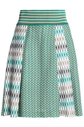 MISSONI Crochet-knit skirt