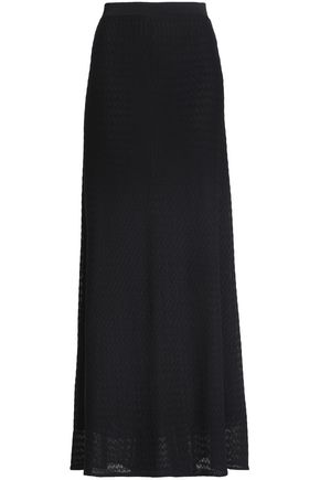 MISSONI Crochet-knit maxi skirt
