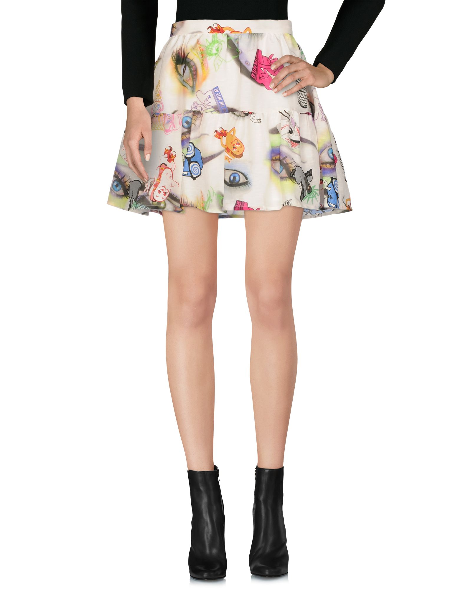 KENZO Мини-юбка юбка с цветочным принтом kenzo ут 00001022