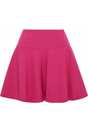 REDValentino Flared cady mini skirt