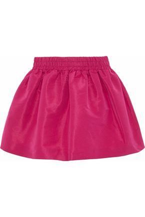 REDValentino Gathered faille mini skirt