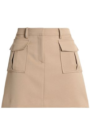 THEORY Lupah twill mini skirt