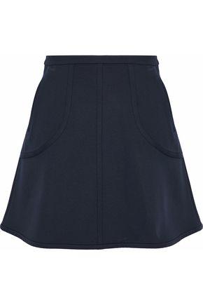 REDValentino Fluted cady mini skirt