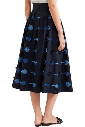 LELA ROSE Midi Skirt