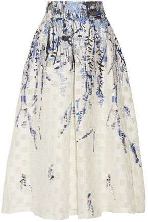 LELA ROSE Midi Skirt