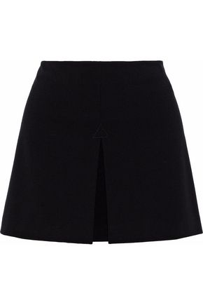 WOMAN CREPE SHORTS BLACK