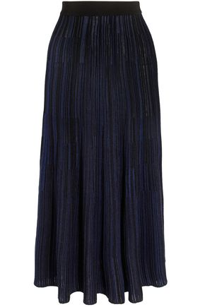 SONIA RYKIEL Ribbed-knit midi skirt