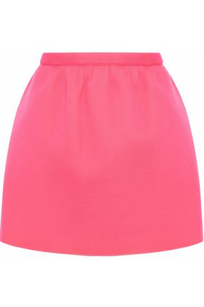 REDValentino Cotton-neoprene mini skirt