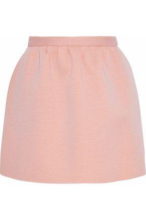 REDValentino Cotton-neoprene mini skirt