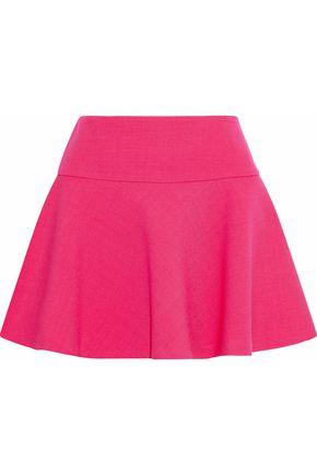 REDValentino Flared cotton-blend mini skirt