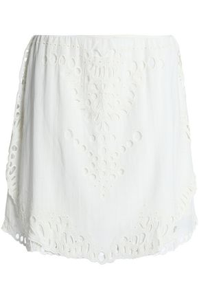 IRO Crepe mini skirt