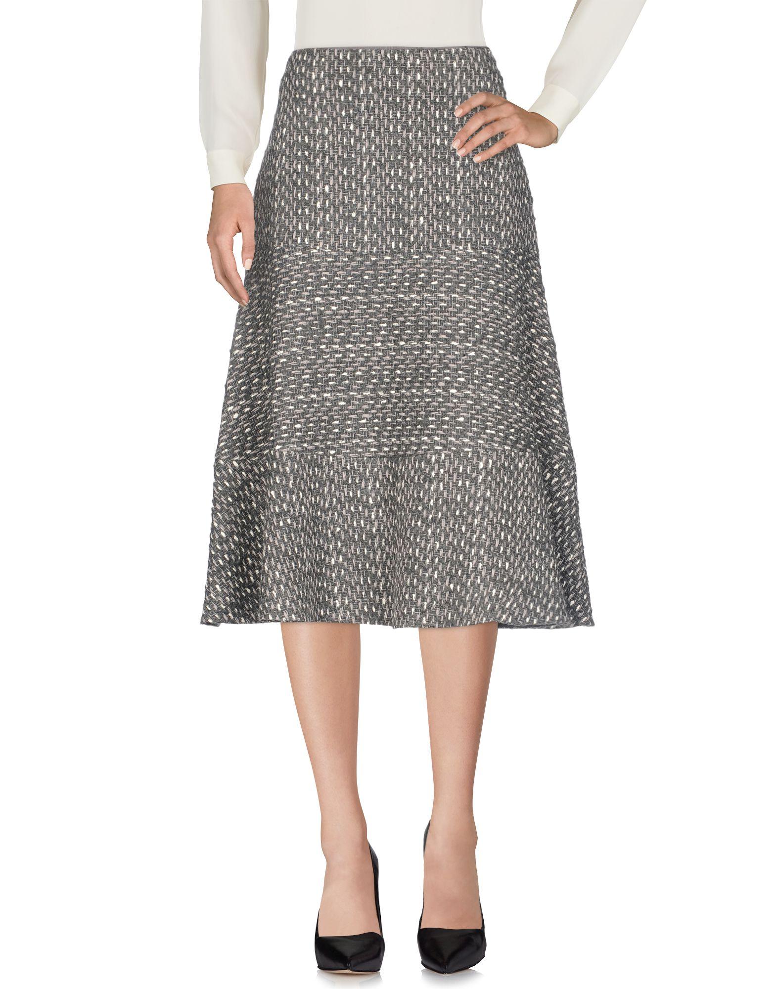 AGNONA Юбка длиной 3/4 agnona платье длиной 3 4