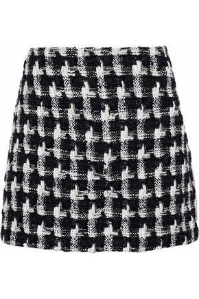 ALICE + OLIVIA Elana bouclé-tweed mini skirt