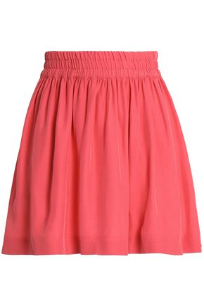 REDValentino Satin-crepe mini skirt