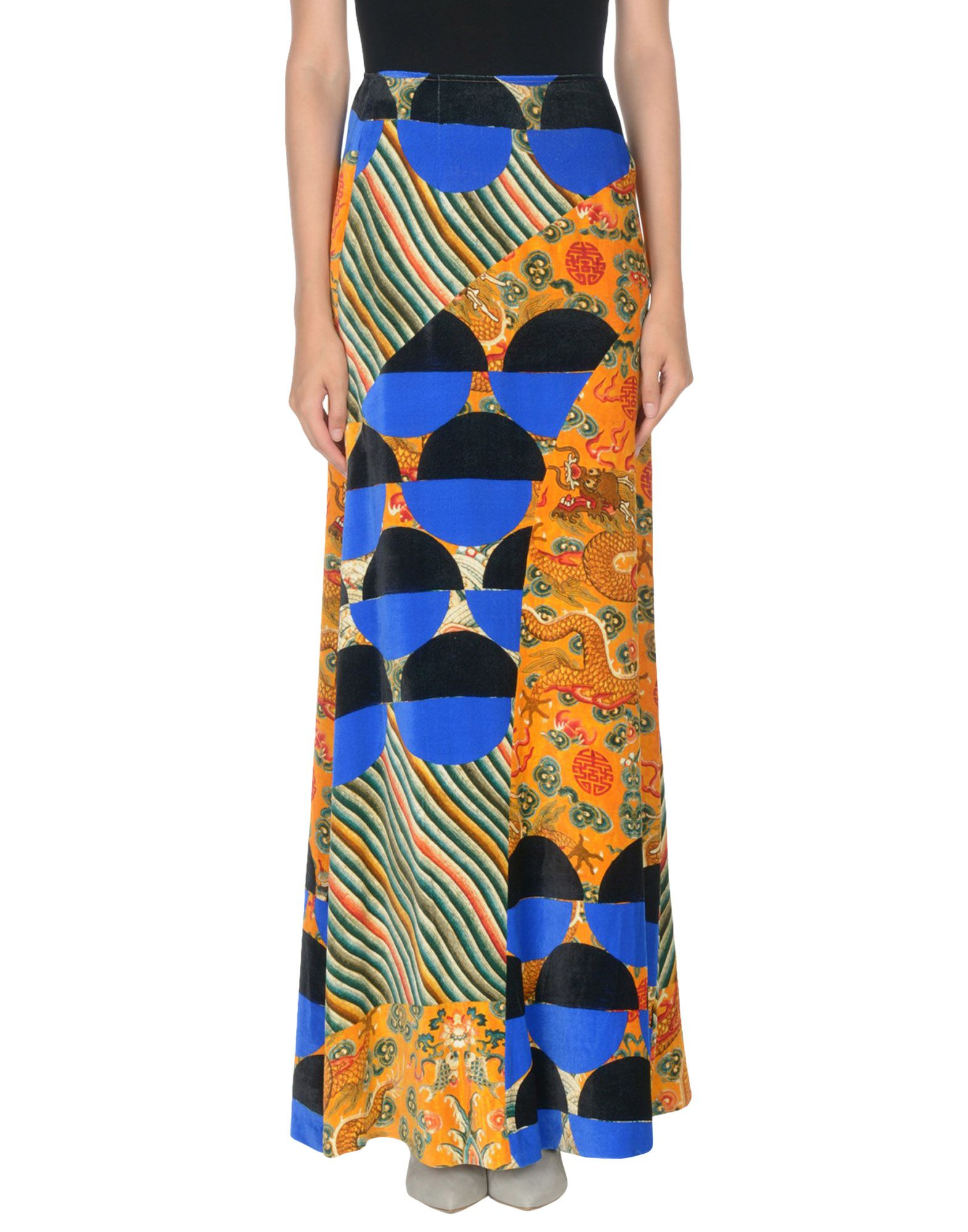 DRIES VAN NOTEN Длинная юбка недорго, оригинальная цена
