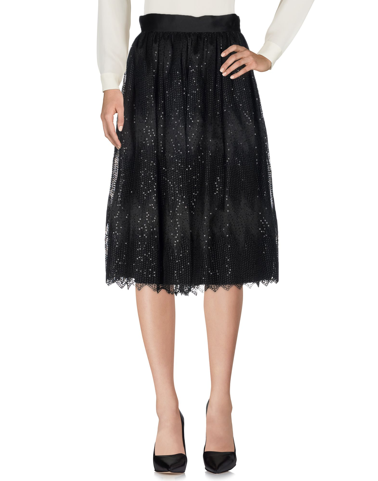 SPACE STYLE CONCEPT Юбка длиной 3/4 ethnic style 3 4 sleeve round neck retro print straight dress for women