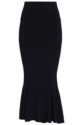 NORMA KAMALI Stretch-jersey midi skirt