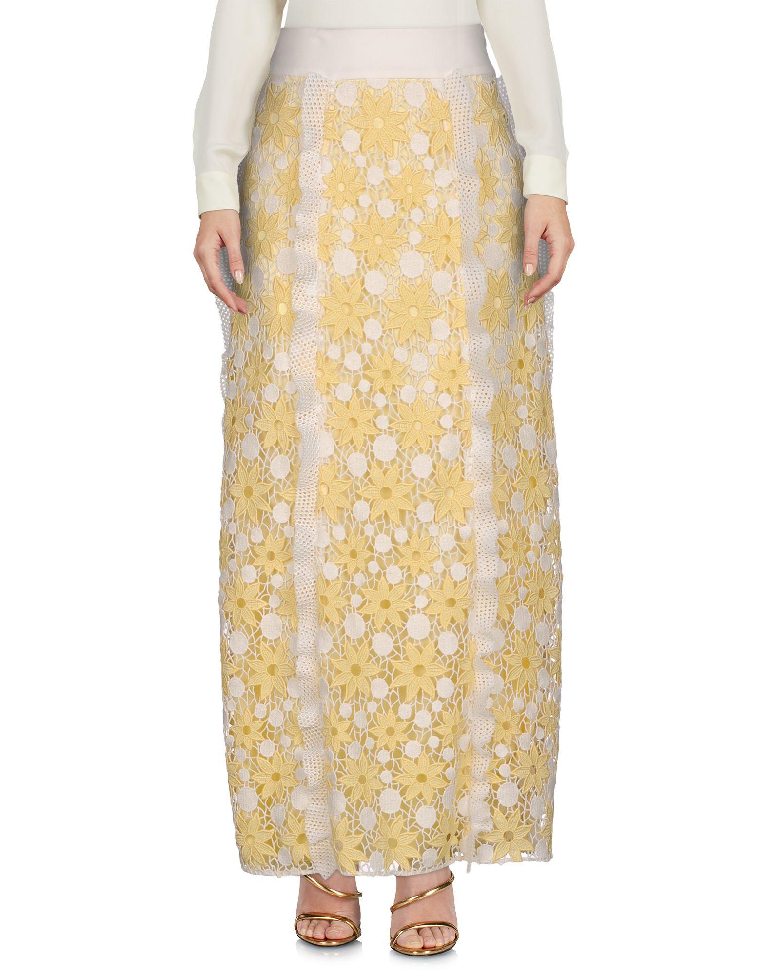 EMANUEL UNGARO Длинная юбка emanuel ungaro юбка длиной 3 4