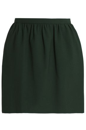 REDValentino Stretch-ponte mini skirt