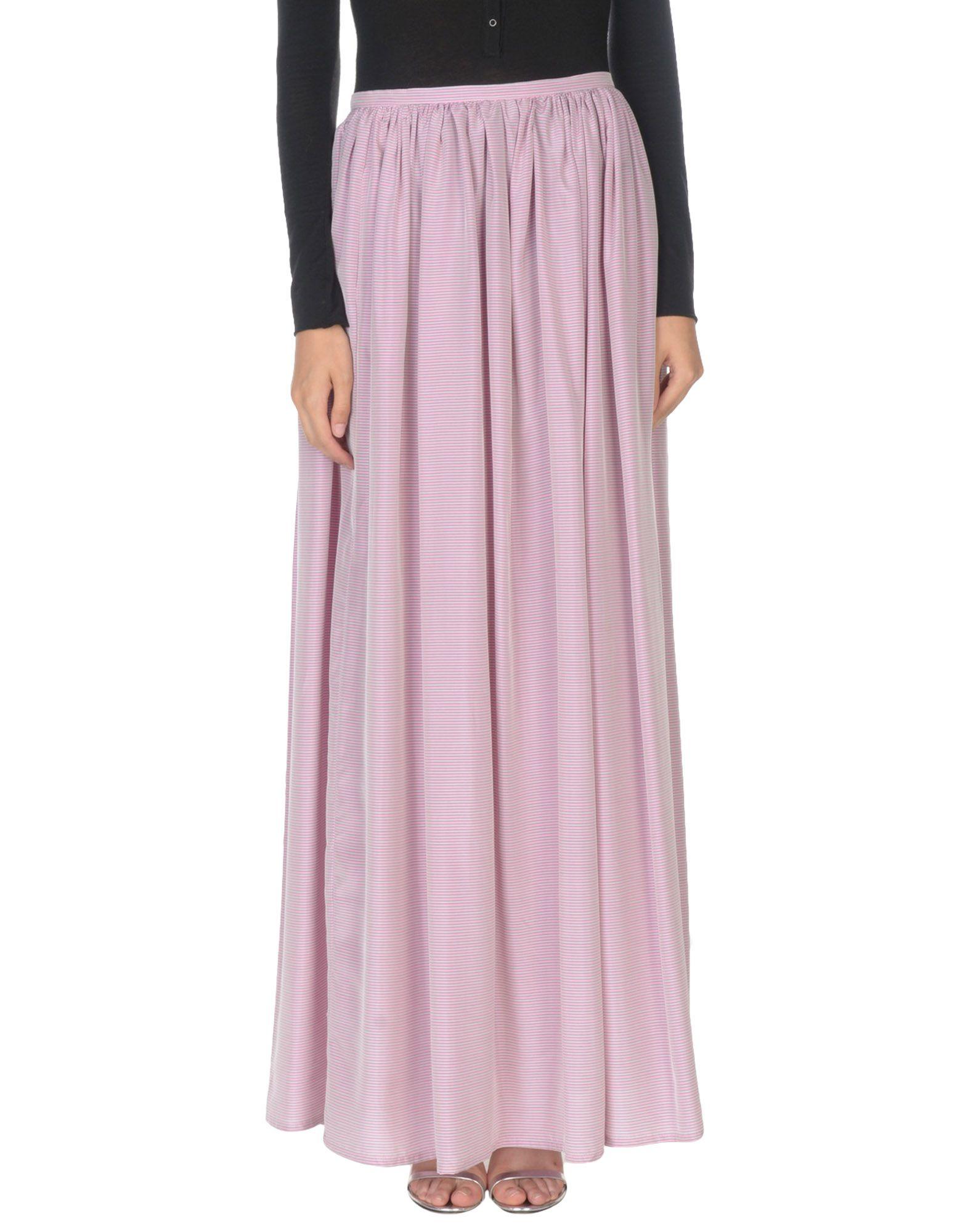 THIERRY COLSON Длинная юбка thierry colson платье длиной 3 4
