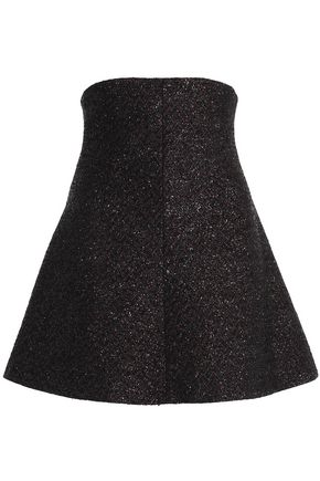 REDValentino Metallic tweed mini skirt