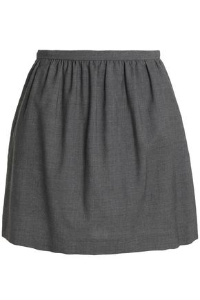 REDValentino Wool-twill mini skirt