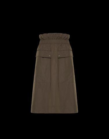 MONCLER FALDA - Faldas largas - mujer
