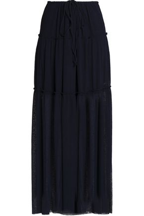 SEE BY CHLOÉ Ribbed-knit maxi skirt