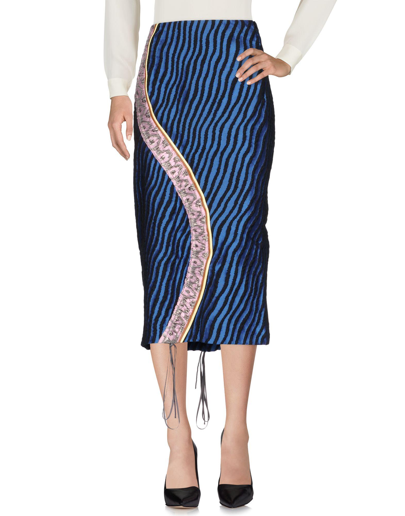 MARNI Юбка длиной 3/4 marni юбка длиной 3 4