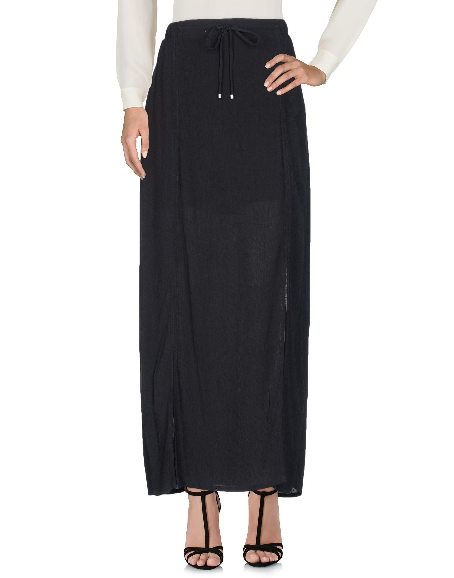 SPLENDID Длинная юбка splendid юбка sandwash в рубчик