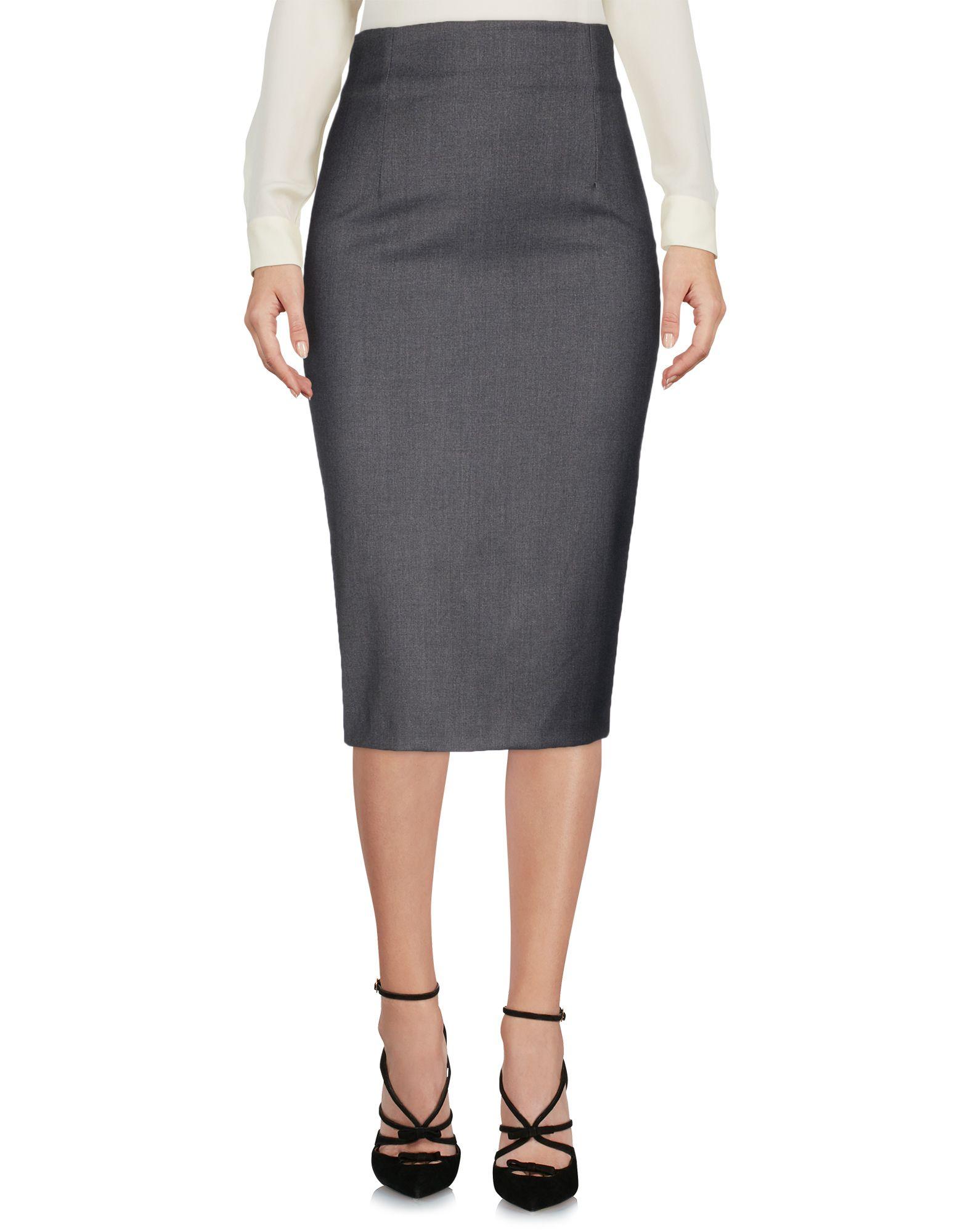 HANITA Юбка длиной 3/4 printio юбка карандаш укороченная