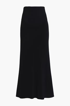 TOME Fluted crepe midi skirt