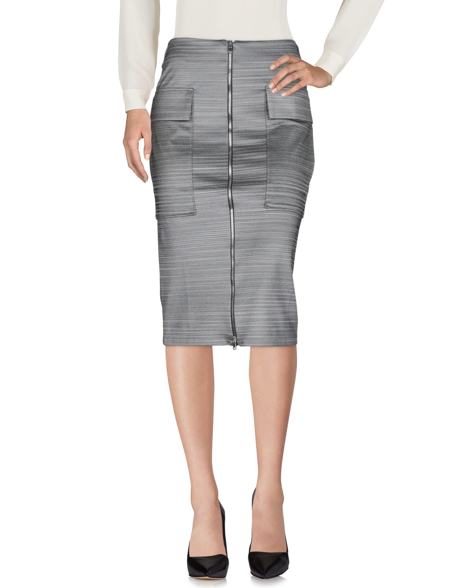 AVIÙ Юбка длиной 3/4 femme юбка длиной 3 4