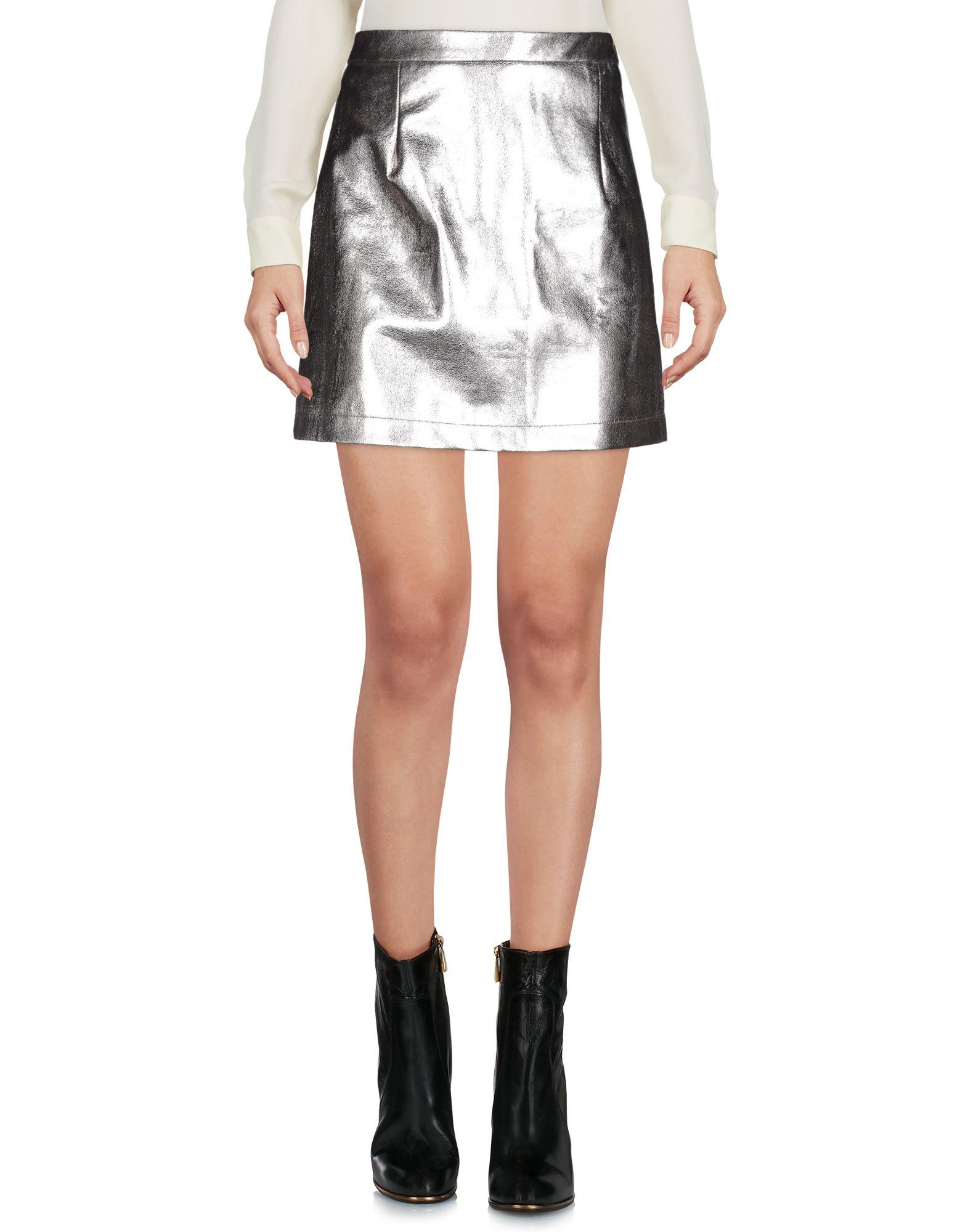 GLAMOROUS Мини-юбка юбка glamorous ac1231 silver lurex