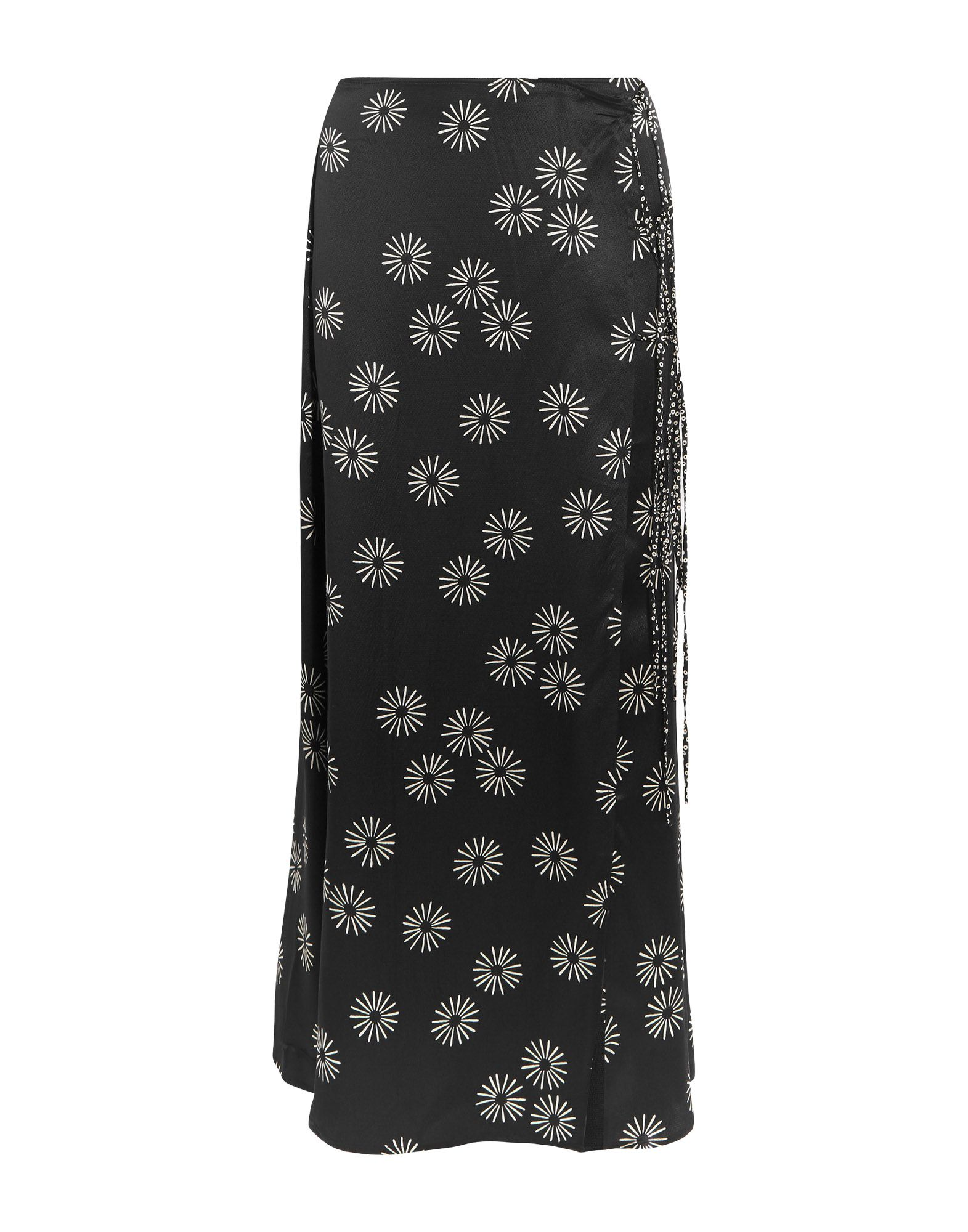 KÉJI Maxi Skirts in Black
